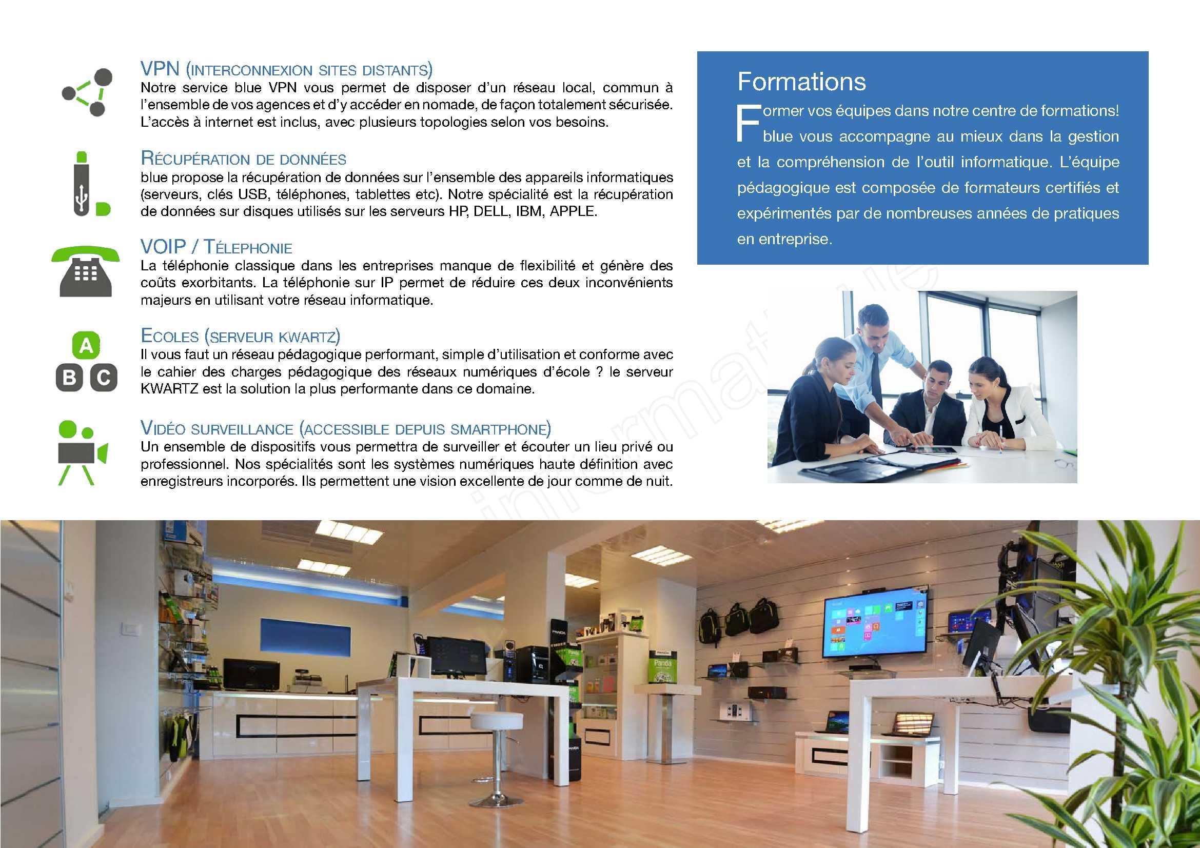 société informatique Thonon blue info 74